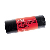 Pack Of 10 Refuse Sacks