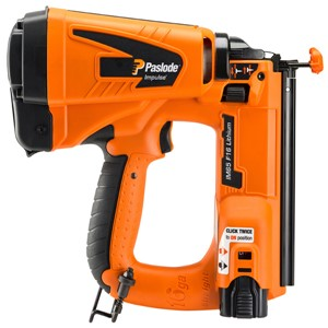 Paslode Impulse IM65 F16 Li-ion cordless brad nailer provides extended work periods with up to 10,000 shots between charges, class leading weight and balance and an accurate yet easy to use depth pf drive. Ideal tool power ensures an ideal finish in all soft woods and dense MDF.