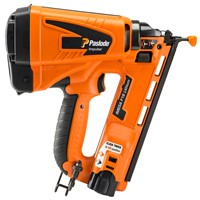 Paslode IM65A F16 Angled Impulse Gas Brad Nailer with Lithium Ion Batt