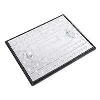PC6AG Solid Top Man Hole Cover and Frame