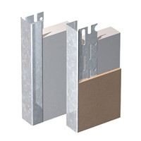 10mm 3m Edge beads are the perfect solution for neat plasterboard edges. Not only do they provide a better finish but they cover the edge in a protective steel skin that strengthens and reinforces the edge. They are also reversible to suit your requirements.