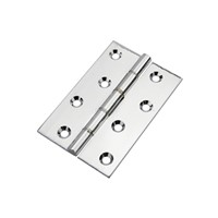 Frisco Polished Chrome 100mm Dble Phosphur Washered Butt Hinge J14863