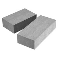 Supreme padstones are constructed from high strength dense concrete which ensures optimum strength and performance. Padstone come ready to use saving time on site. Size: 215mm x 140mm x 102mm.