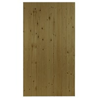 Priory Flat Top 1760x900mm Brown Treated LB T&G Matchboard Gate