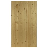 The Priory Flat Top is a  natural softwood side gate using tongue and grooved match boarding offering privacy and security. The Priory is ledged and multi braced. Supplied in pressure treated softwood for durability. The Priory has a width of 0.9m and a height of 1.76m.