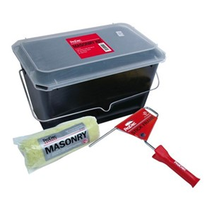 "Prodec 3PC 10"" Masonry Roller, Frame and Scuttle Kit"