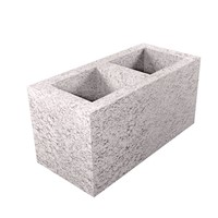 Hollow Dense Concrete Blocks Can be used in a variety of internal & external applications, including above and below the ground or where strength and durability are prime considerations. Overall dimensions: 440mm x 215mm x 215mm.