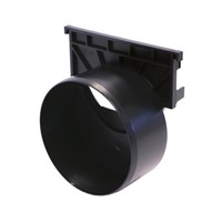 RainDrain End Cap Outlet