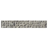 Supreme 305x1830mm Rock Faced Concrete Gravel Board
