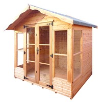 2.4x2.4M Rosedale Summerhouse 808