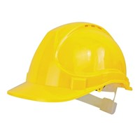 Scan Yellow Safety Helmet
