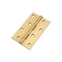 Frisco Self Colour 75mm Solid Drawn Brass Butt Hinge J14630