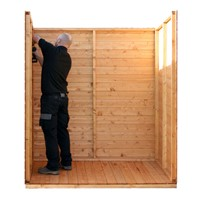 We understand that life gets in the way whilst you're busy making plans. So why not save time and effort with our Direct on site Assembly service. Provided by our dedicated installation team direct, you can relax knowing your 2.4x1.8m Warwick Apex Plus Shed is being installed professionally and correctly.