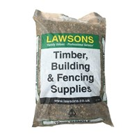 Lawsons' Mini Bags of 10mm Shingle, also known as Pea Shingle/Gravel is 4-10mm in size. Mainly used for bedding drainage pipes or as a decorative aggregate.