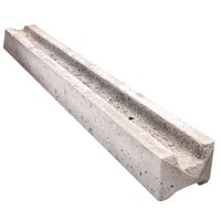 2135mm (7ft) Concrete Slotted Intermediate Fence Post