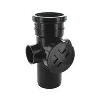 Hunter BS309 Black 110mm Soil Access Pipe