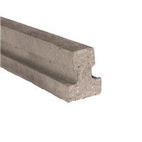 120mm x 155mm x 4800mm Prestressed standard concrete floor beam with a section weight of 34 kg/m. Standard floor beams primary use is for residential and housing construction.