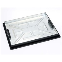Clark Drain 600x450mm Recessed manhole cover and frame with 5 tonne loading designed for internal pedestrian areas.