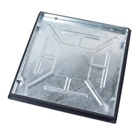 Clark Drain 600x600mm Recessed manhole cover and frame with 5 tonne loading designed for internal pedestrian areas.