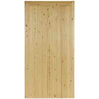 Town 1778x900mm Green Treated FLB T&G Matchboard Pedestrian Gate
