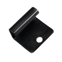 Trex start clip are stainless steel, black fixings to allow installation of perimeter decking boards. 1 bag contains 36 clips which covers an area of 37m2 (400 sq. ft)