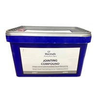 Marshalls Grey Jointing Compound is specially designed for use with their range of vitrified paving. It comes in a handy 20kg resealable tub which contains a vacuum sealed bag. Make sure the area is throughly wetted before emptying contents, brush into joints making sure the area is wet all the time during application. Full instructions come with every tub.