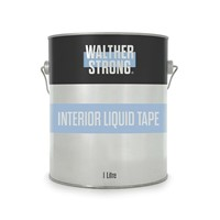 Walther Strong 1 Litre (1L) Interior Liquid Tape is a temporary protection of all smoth and porous surfaces. Water-based yellow-transparent gel that after drying forms a strong and flexible, easily removable foil that offers comprehensive protection against scratches, paint, plaster, cement, PU foam and more. Designed for interior use only.