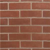 Weinerberger fine sanded stock facing brick in a traditional 'Surrey red' colour.